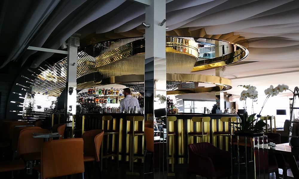 Лайтбоксы ресторана Reef