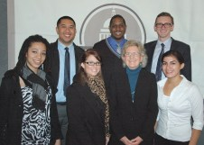 CSUS Advanced PR Class at the Sacramento Press Club. Spring 2011.