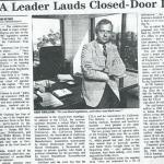 CTLA leader lauds closed