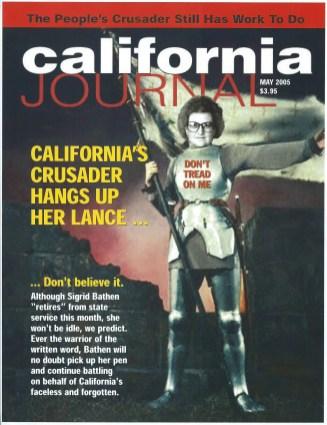 "California Journal ""Mock"" Cover, May 2005."