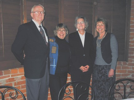 State Information Officers Council Lifetime Achievement Award Winners (l. to r.): Alan Jones, Calif. Department of Water Resources; Kati Corsaut, Calif. Attorney General's Division of Law Enforcement; Sigrid Bathen, Calif. Fair Political Practices Commission; Karen Terrill, CalFire.