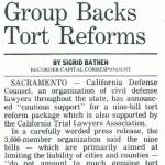 defense bar group backs