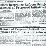 failed insurance reform brings