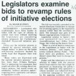 legislators examine bids to
