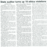 state auditor turns up 19