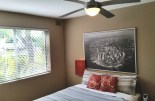 Four on Whatley master bedroom with ceiling fan