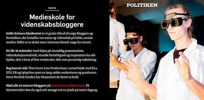 politiken interview SoMe Akademiet Novo Nordisk