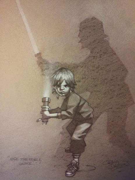 Craig Davison - Luke Skywalker