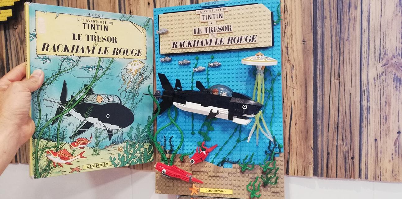 El tesoro de Rackham el Rojo Lego - 01