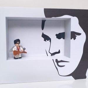 Cuadro minifigura Elvis Presley