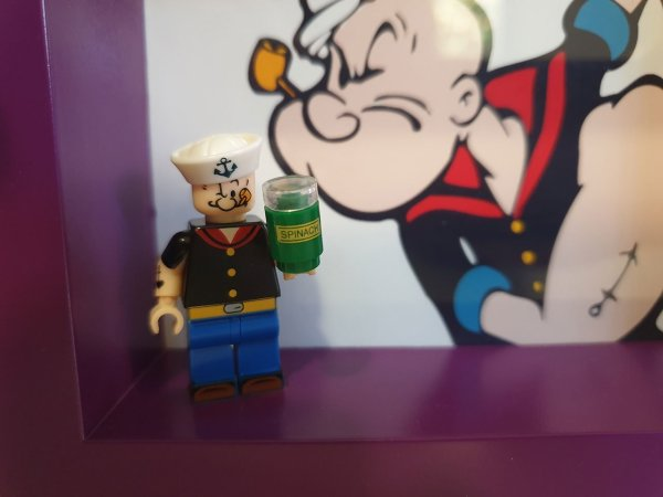 Cuadro minifigura Popeye