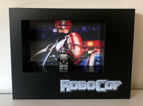 Cuadro minifigura Robocop