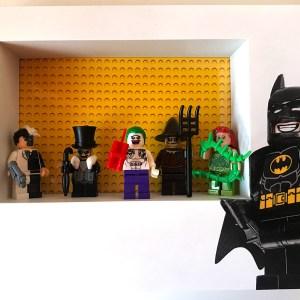 Cuadro de minifiguras Villanos de Batman
