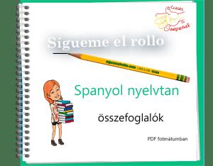 spanyol nyelvtani összefoglalók