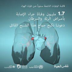 البيئة-  تلوث الهواء وأمراض الرئة