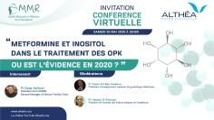 ندوة إفتراضية : دور الميتفورمين و  الآينوزيتول في علاج متلازمة تكيس المبايض