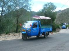 Three wheeled truck