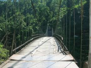 A bit of a scary bridge