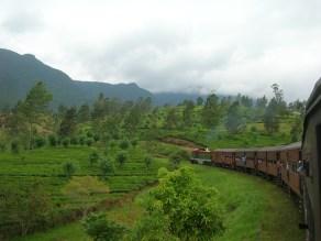 Train through the central highlands
