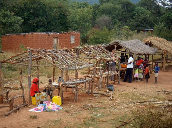 market stall - Angola