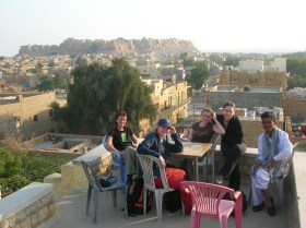 Cards on the roof top - Jaisalmer
