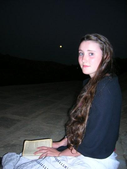 Savannah loves reading