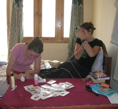 Cards and make up