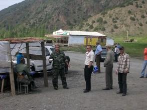 Checkpoint/bride area