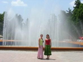 Opera house fountain, Dushanbe