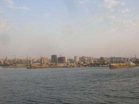 Baku Harbour, Azerbaijan