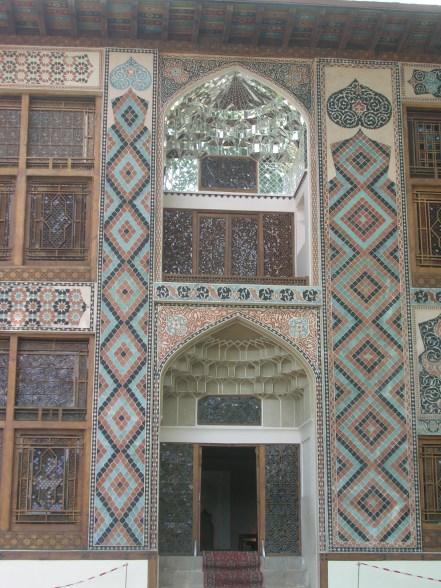 Azerbaijan, Amazing tile work