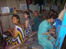 Women weaving - Khiva