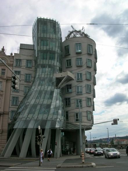 The Dancing House,Prague