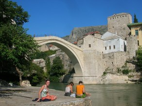 Kriva Cuprija (Sloping Bridge), Bosnia