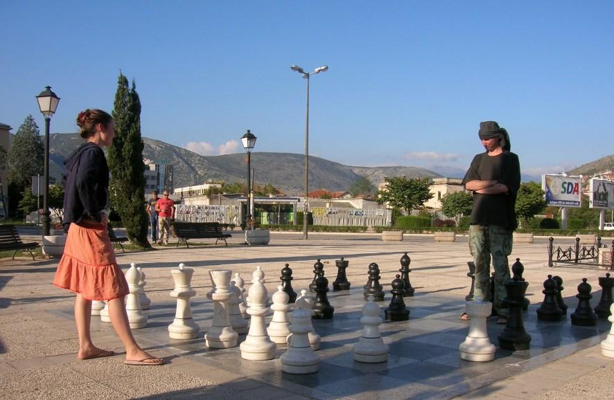 Chess playing, Bosnia