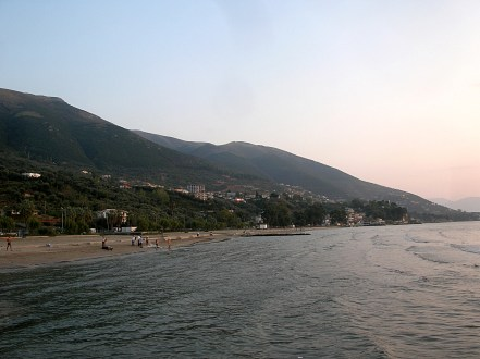 Vlora, ALbania beach