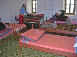 our room in the Monastery