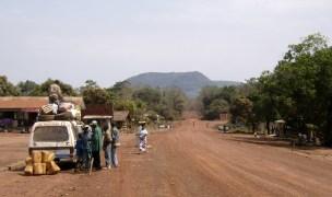 The Kenema highway, Sierra Leone