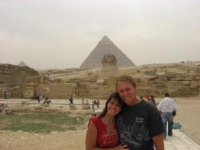 pyramids, Cairo, Egypt