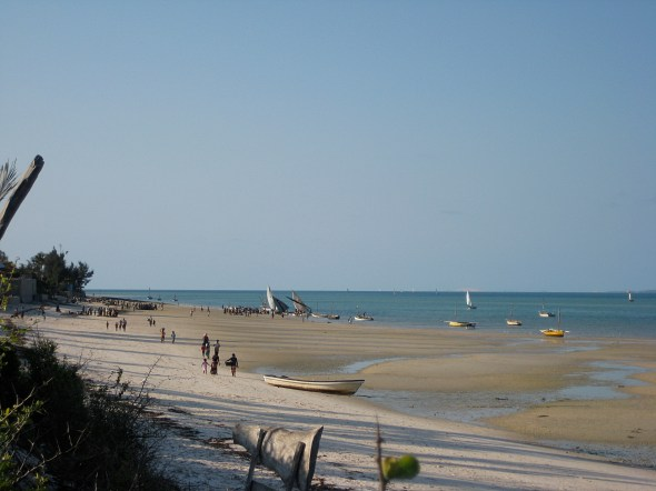 Lovely beaches of Mozambique