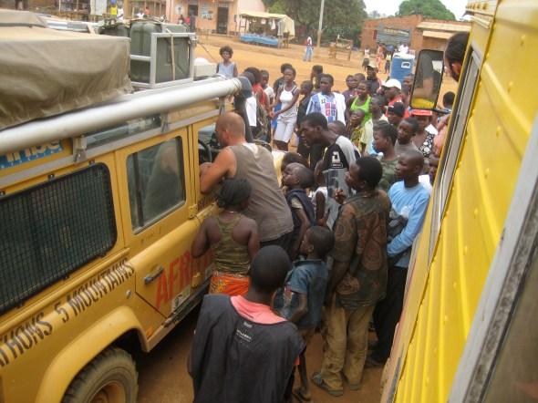 traffic jam -Angola