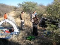 Wilderness camp, Botswana