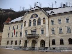 Parliament building Vaduz