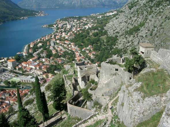 Kotor castle