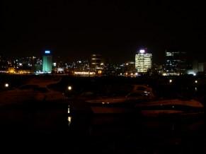 Luanda by night. Angola