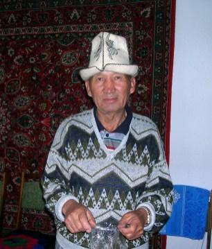 Men from the rural Kyrgyzstan
