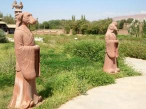 Chinese zodiac animal statues. , Western China
