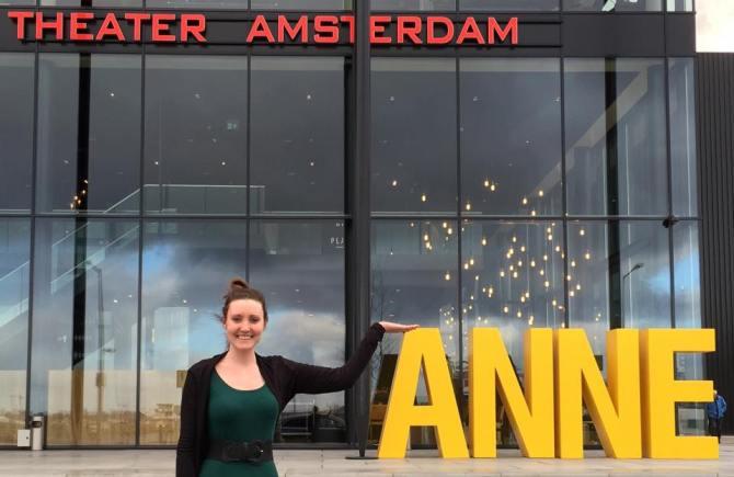 Anne Frank  Theater- Savannah Grace