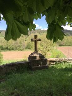 Near Carcassonne, France Church yard cross