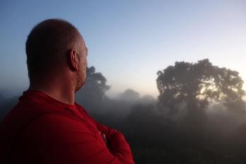 Jungle Sunrise.  Peru